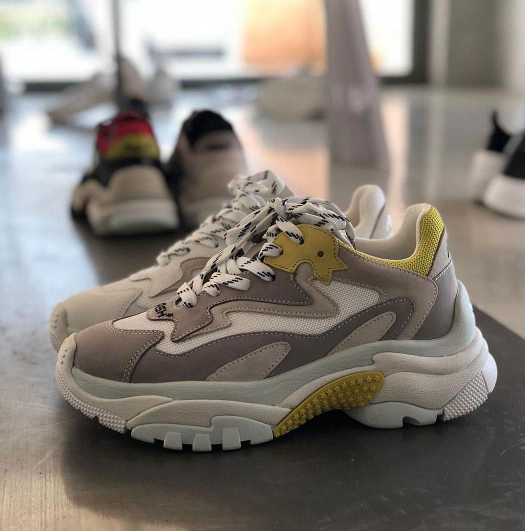 AshAddict trainers are a 90 s inspired style constructed in nubuck leather  and suede panels in 0c283cbe58