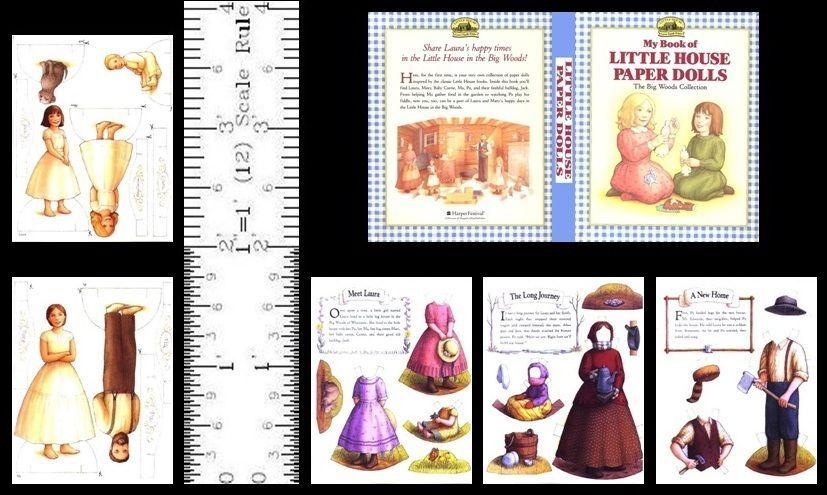 SET of FIVE DOLLS HOUSE MINIATURE STORY BOOKS 1:12th SCALE HANDMADE Set A