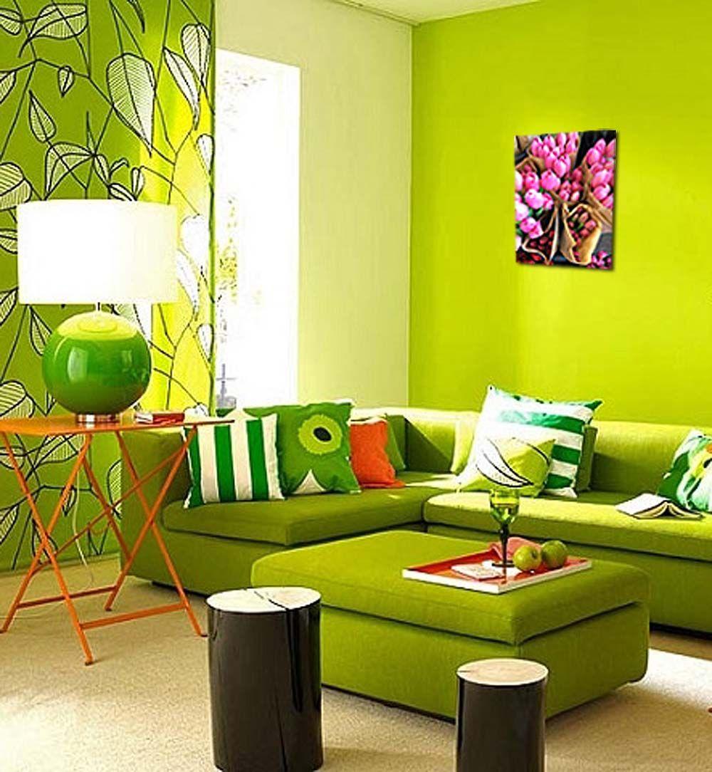 Картина по номерам «Голландские тюльпаны»   Цвета гостиной ...