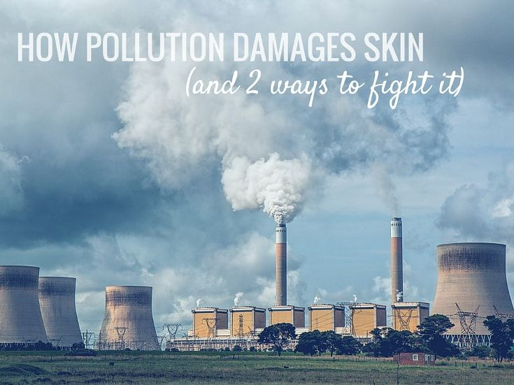 Pollution damages skin and makes it age faster. low level ozone, smoke, smog, and other ambient air pollutants can generate the formation of wrinkle-inducing free radicals, cause inflammation, impair the skin's protective barrier, alter its microflora, and deplete it of antioxidants, particularly vitamins C and E. But, we're not totally defenceless against it. Here's what you can to do to fight it, and keep your skin looking younger for longer even if you live in a big, polluted city
