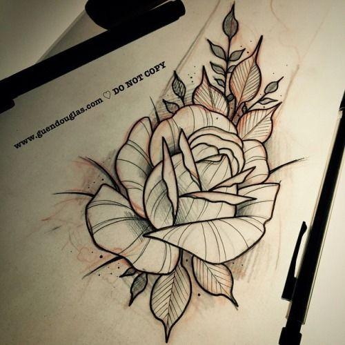 Resultado De Imagen Para Tatuajes Tradicionales Rosas Tatuajes