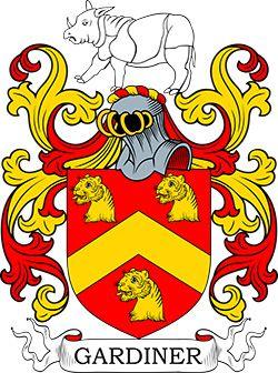 Gardiner Family Crest