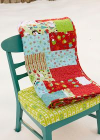from the blue chair: A quilt for the kiddos