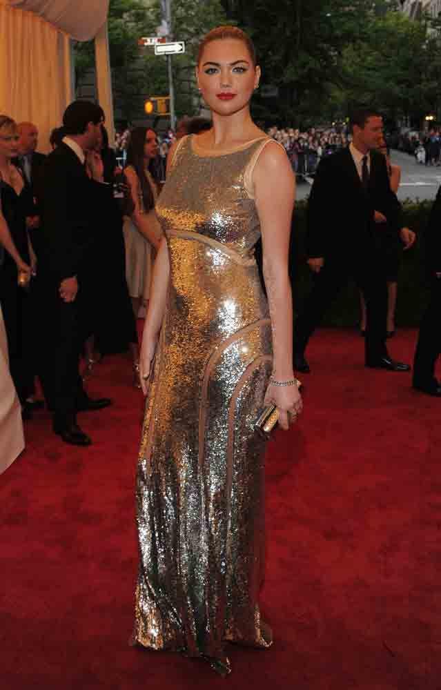 Kate Upton in Michael Kors at the 2012 Met Gala