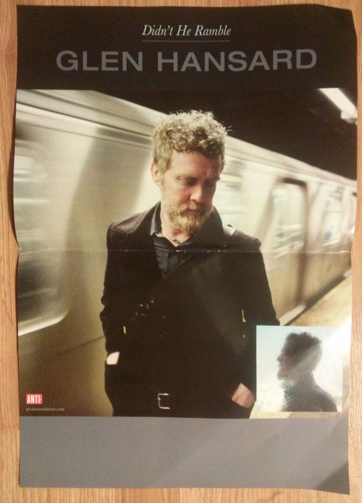 Lyric high hope lyrics glen hansard : Music Poster Glen Hansard ~ Didn't He Ramble | Glen hansard and ...