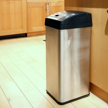 Costco Itouchless 13 Gallon Stainless Steel Touchless Trash Can