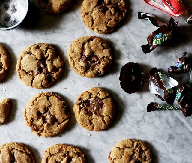 Halloween Candy Cookie freshly baked Pinterest