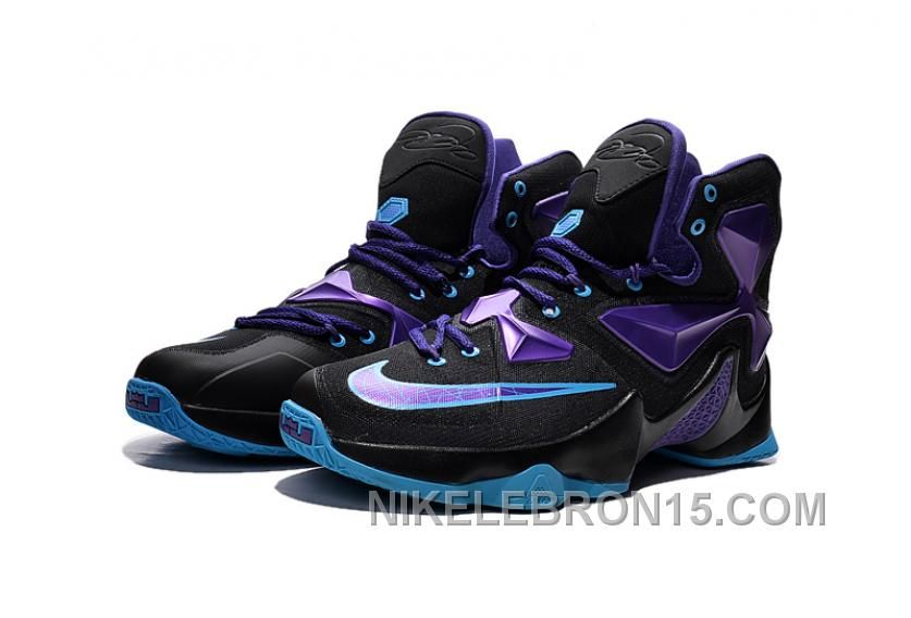 ... Find Authentic Nike Lebron 13 Custom Black Purple online or in Footseek. 1fac2dd3d