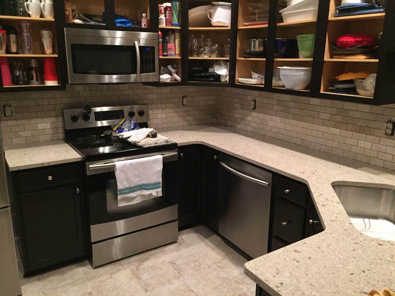 Marble backsplash full kitchen remodel kitchen remodel