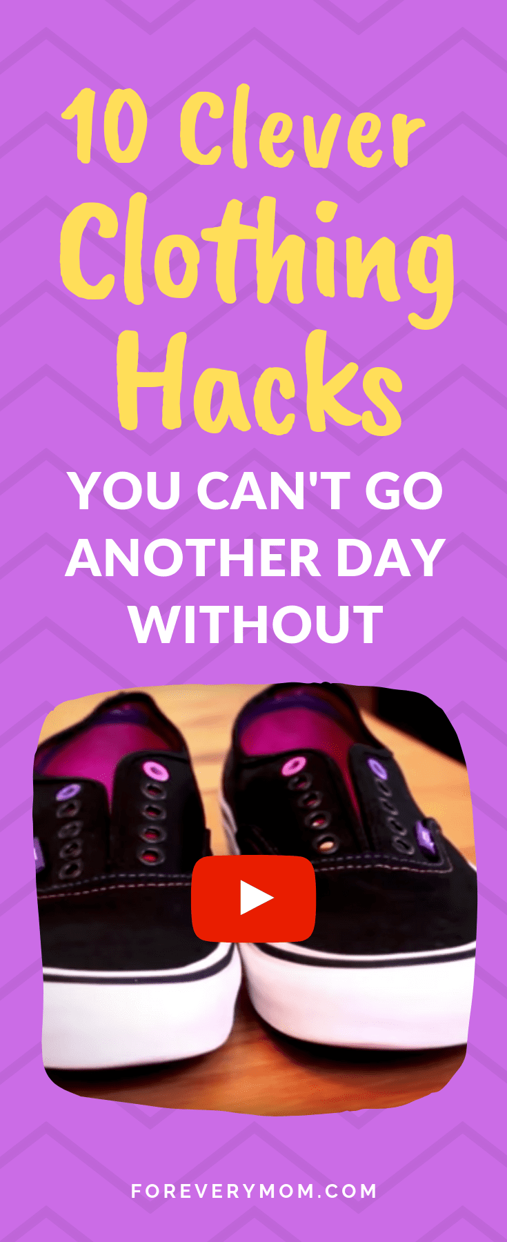 Hacks These clothing hacks blew my mind  and saved some of my favorite items too Check out just how awesome these clothing hacks can be