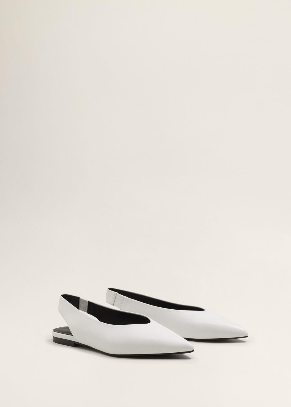 Skorzane Buty W Szpic Kobieta Mango Polska Leather Shoes Woman Leather Shoes Shoes
