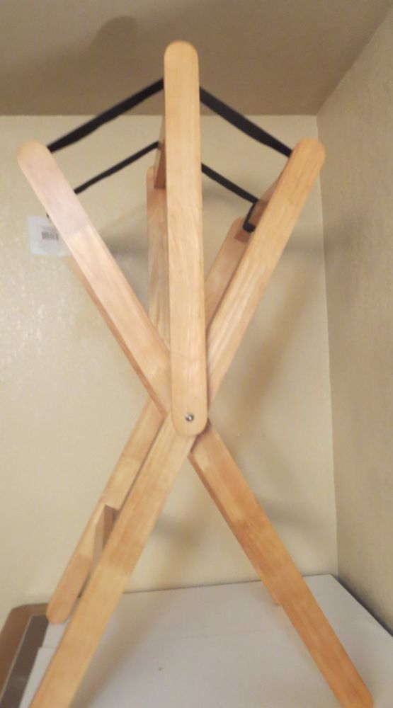 Pro Craft Wooden Wood Saddle Rack Stand Saddle Racks Stands