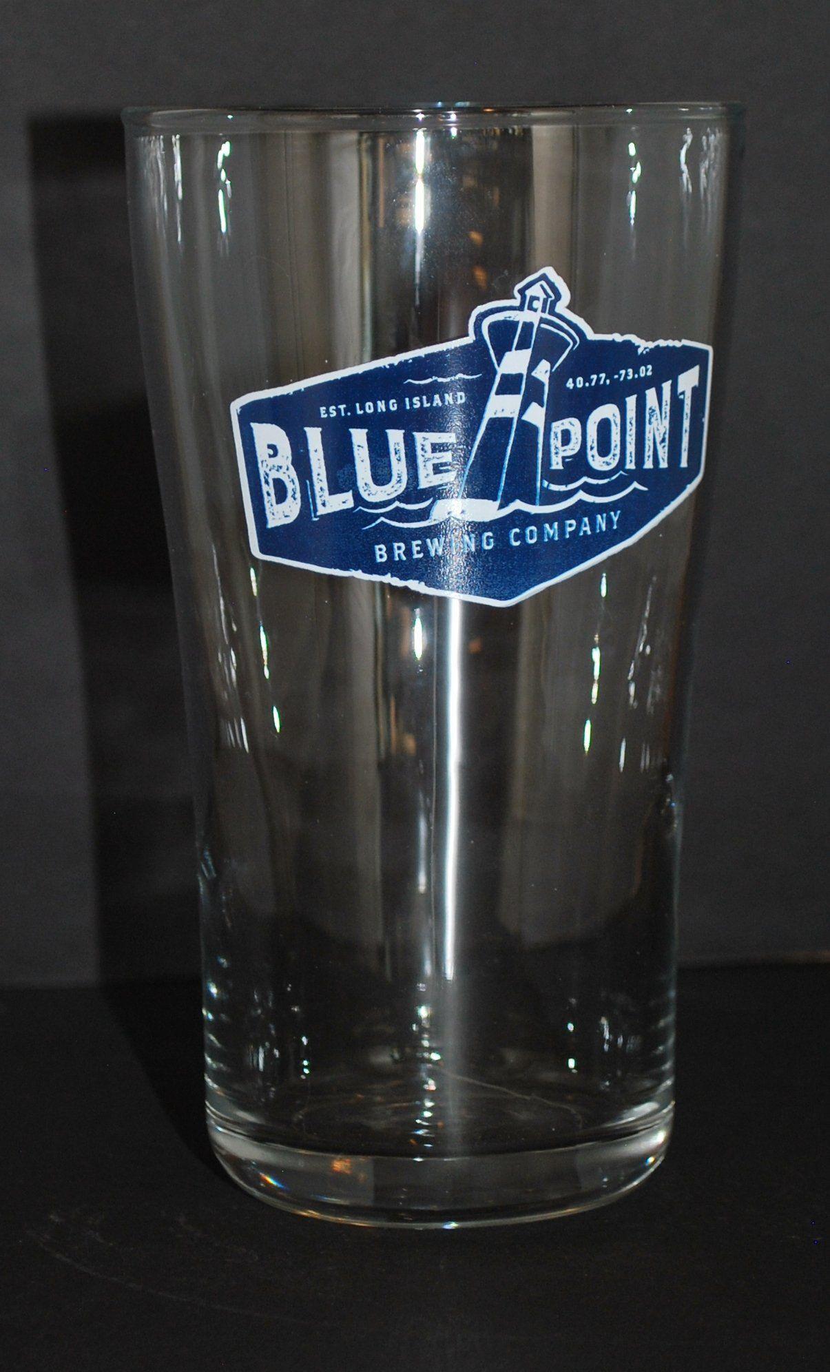 Blue Point Brewing Company 16 oz Pint Glass, Long Island, NY ...