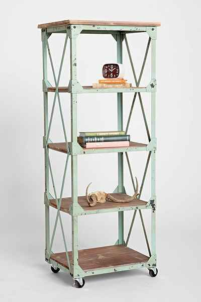 Factory Rolling Bookcase Industrial Bookcases Rolling Shelves Bookcase