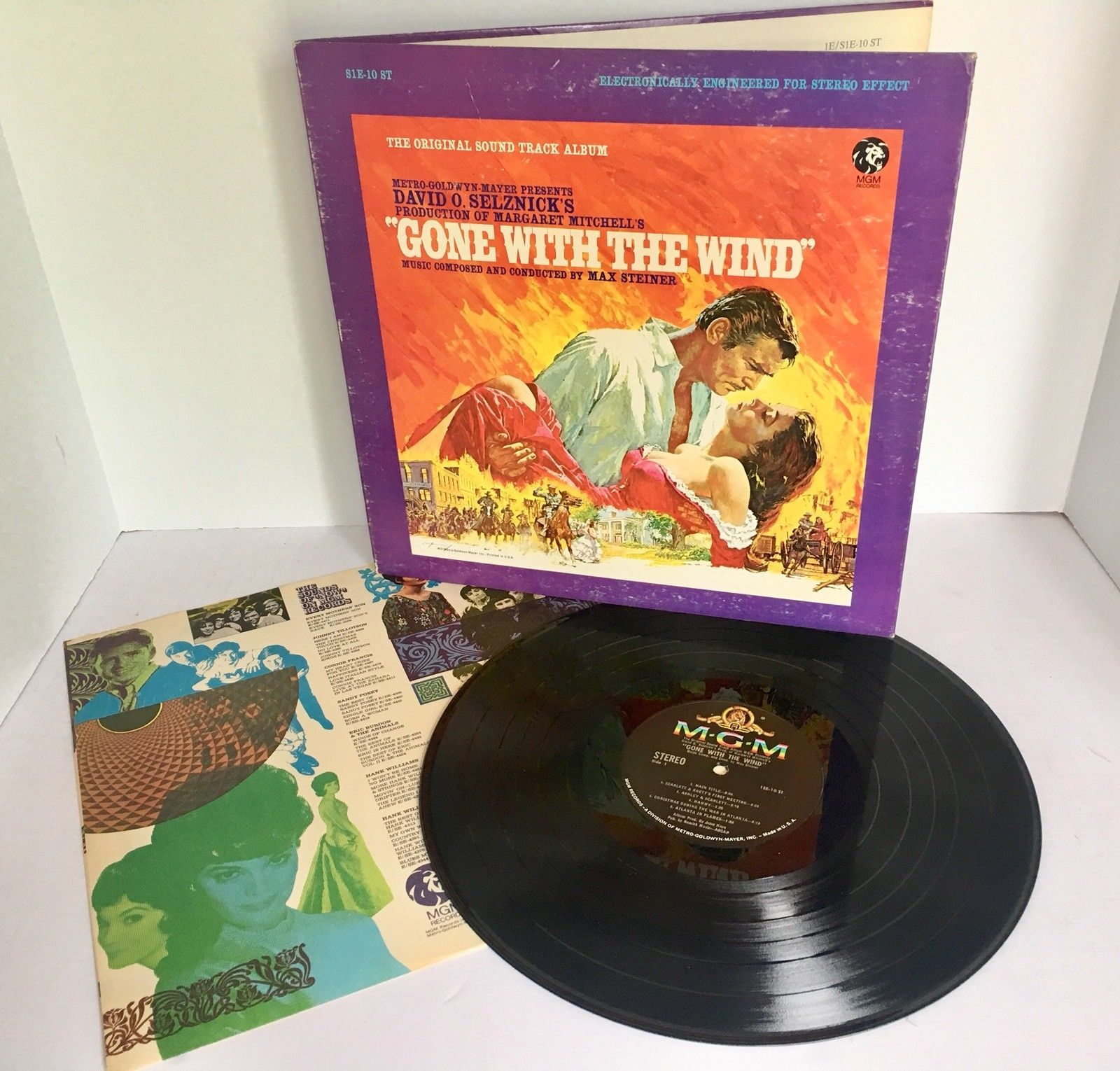 Gone With The Wind Original Soundtrack Orig Mgm Vinyl Lp 1967 Vg Max Steiner Ebay Gone With The Wind Mgm Soundtrack