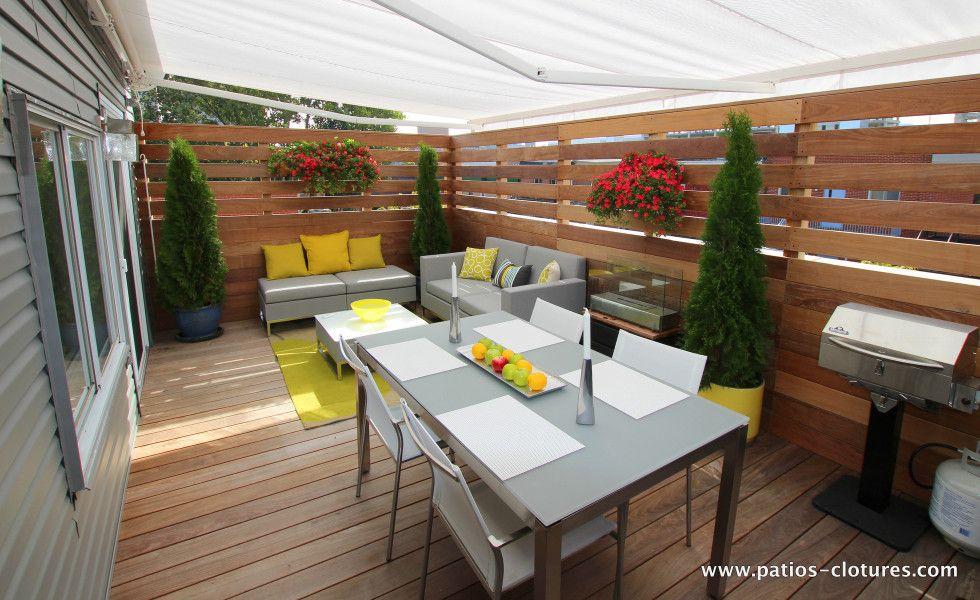 Terrasse sur le toit de patrice coquereau cours arri re for Toit patio bois