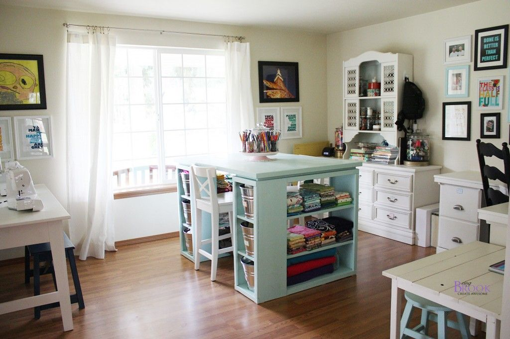 Loooovely Sewing Room Design Craft Room Design Craft Room Sewingcraft room before and during