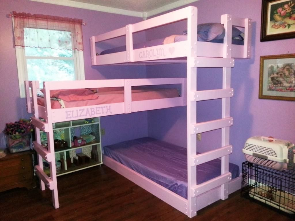 Triple Bunk Beds Ikea Best Interior Paint Colors Check More At Http Billiepiperfan Com Cool Kids Diy Bed