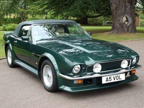 Is That A Mustang Naw Its An 86 Aston Martin Vantage Moto