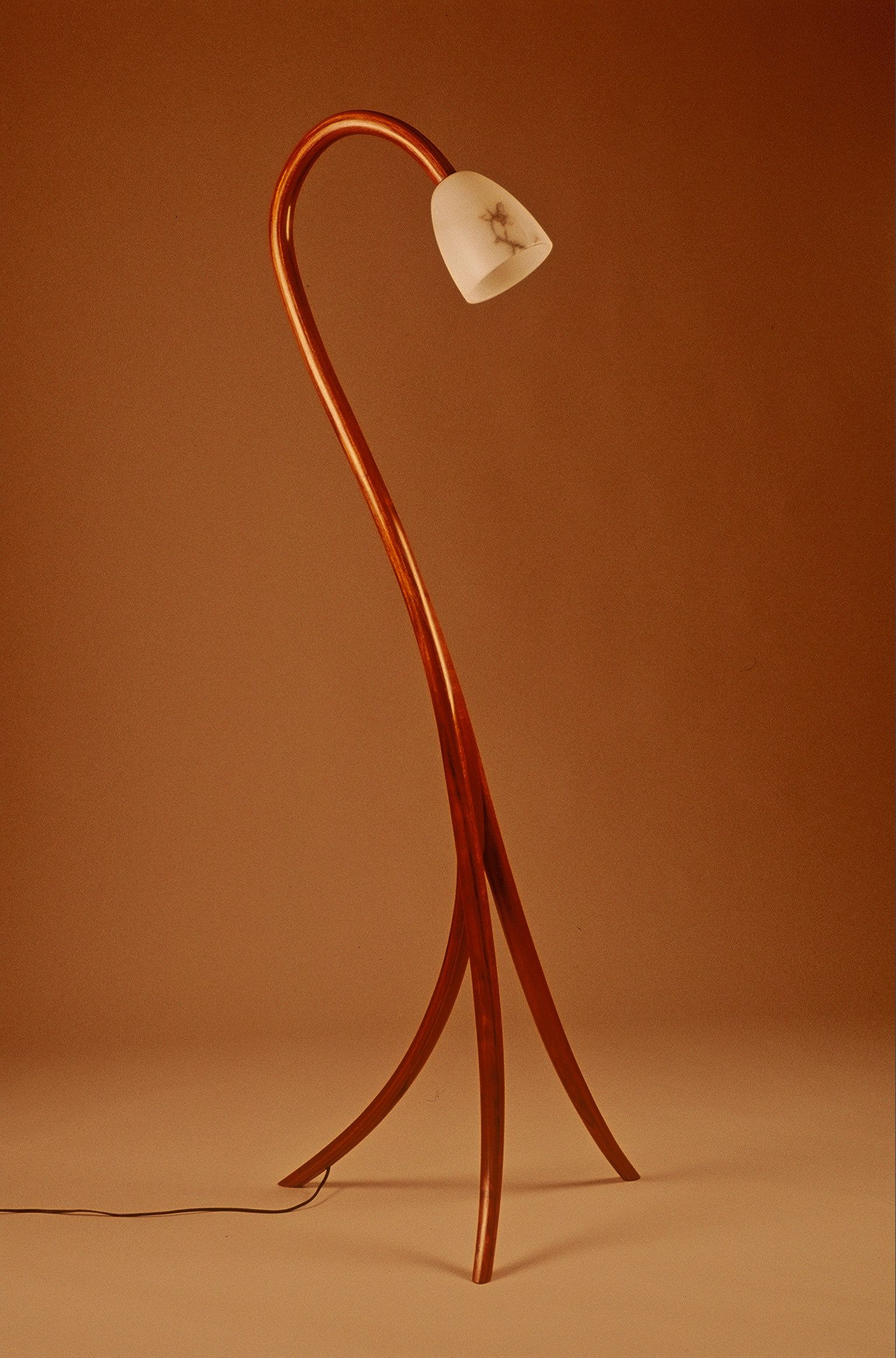 WoodWorks Episode 512 Contemporary Bent Laminate Lamp