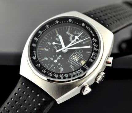 Omega Speedmaster Mk 4.5, from the mid 1970s.  Oh, that's nice.