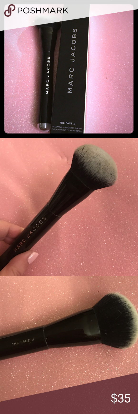 Marc Jacobs Face II Sculpting Foundation Brush No2 Marc