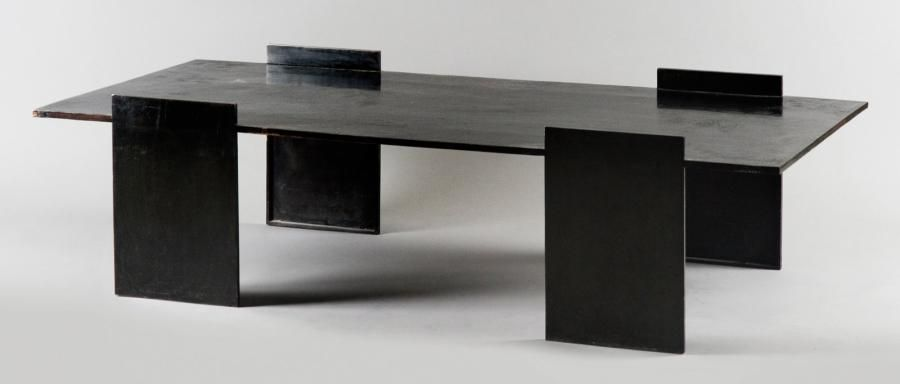 eric schmitt n en 1955 table recta 2007 table basse. Black Bedroom Furniture Sets. Home Design Ideas