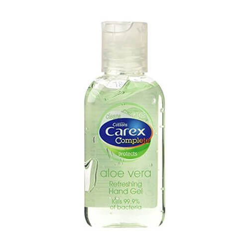 Carex Aloe Vera Hand Gel Aloe Aloe Vera Travel Size Toiletries