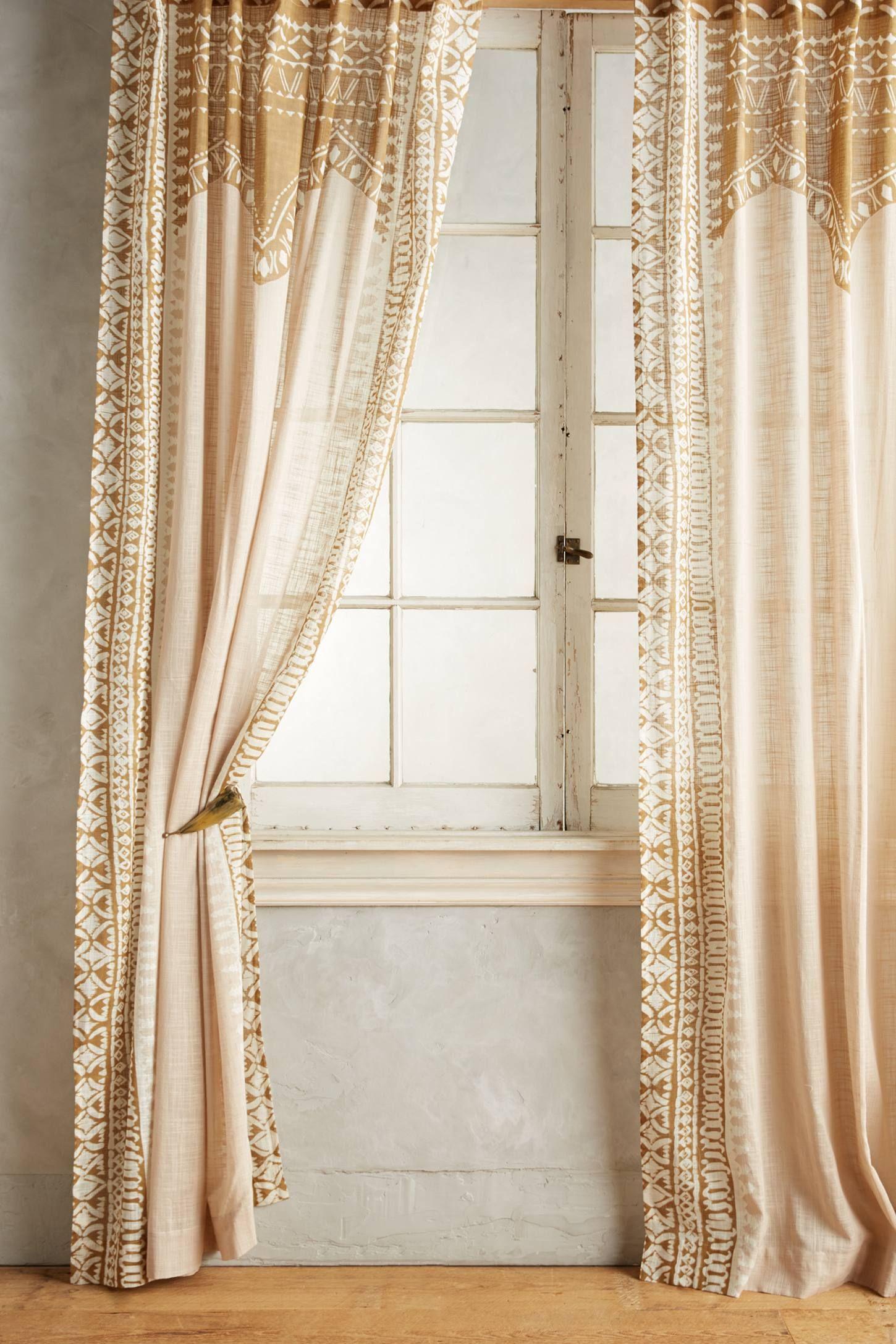 Smithery Curtain Rod Home Curtains Bohemian Curtains Shabby