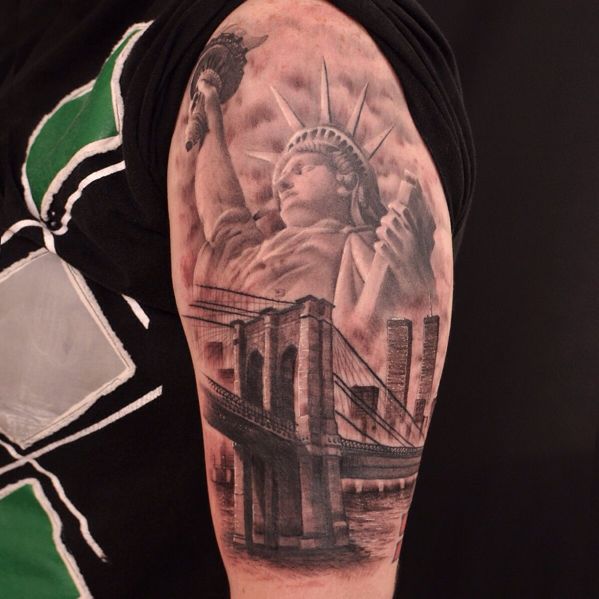 new york sleeve tattoo google search tattos pinterest tattoo tattos and tatt. Black Bedroom Furniture Sets. Home Design Ideas