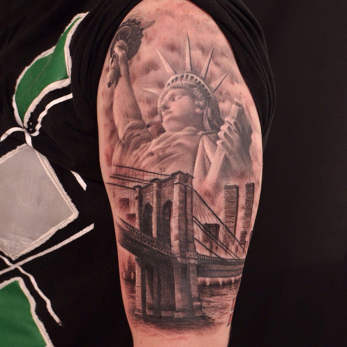 New York Sleeve Tattoo Google Search New York Tattoo Nyc Tattoo Sleeve Tattoos