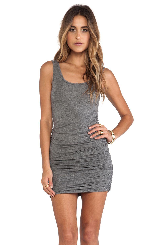 Bella Luxx Slouchy Tank Dress In Ash Heather Wear Pinterest