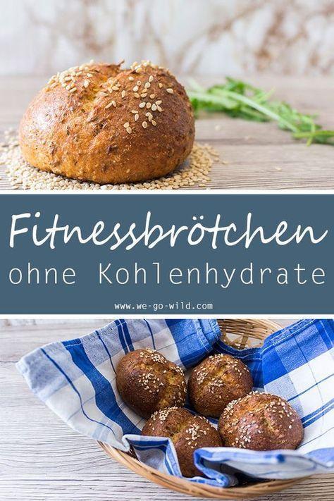 Photo of Low Carb Brötchen mit Frischkäse: Fitnessbrötchen ohne Kohlenhydrate