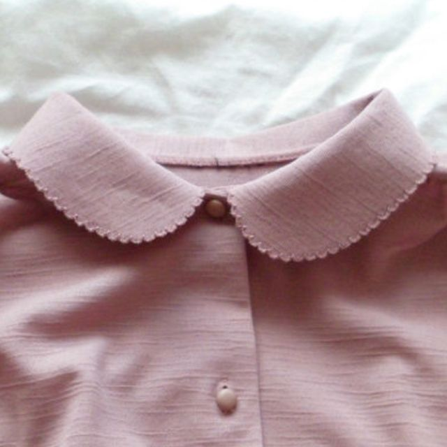 subtle collar detail