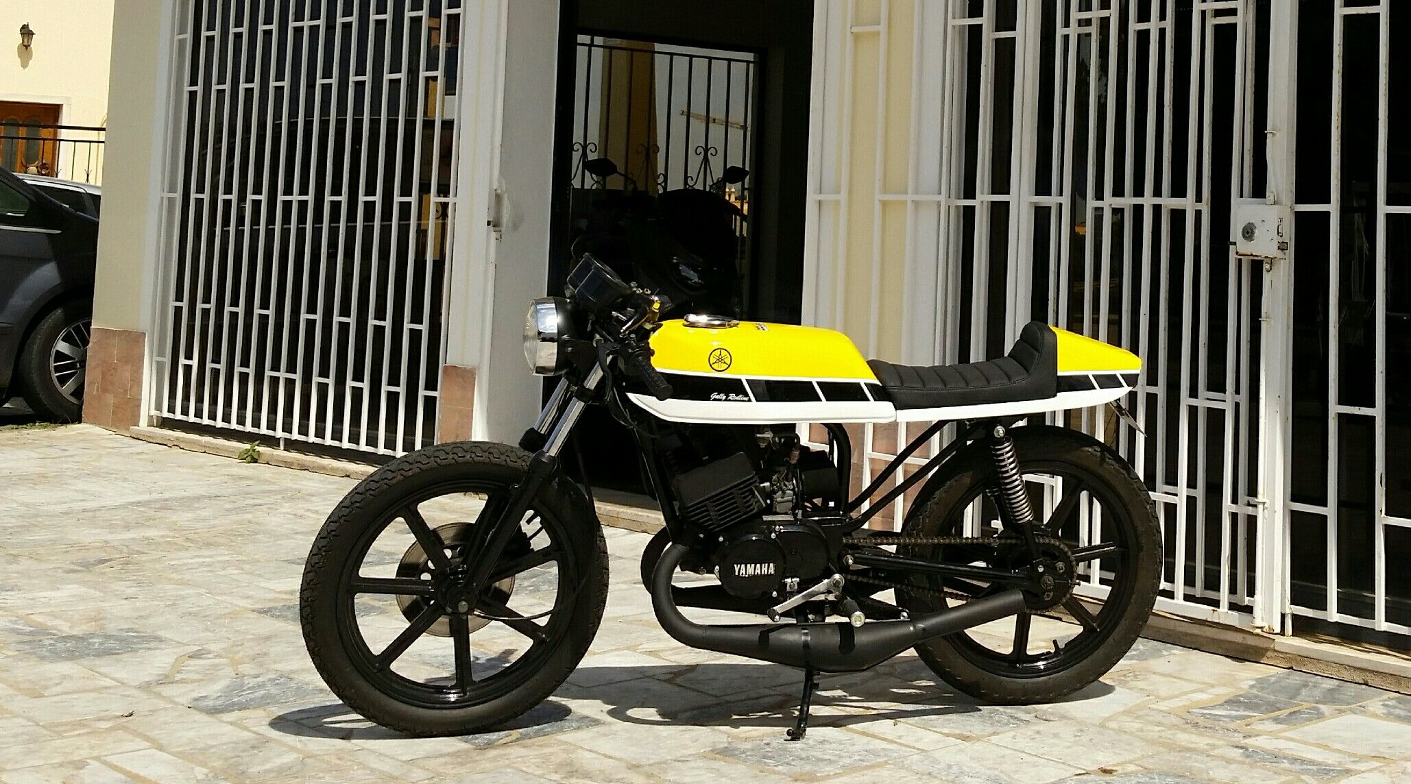 Yamaha Rd 125 Dx 60th Anniversary Cafe Racer Rx 135 Motorbikes