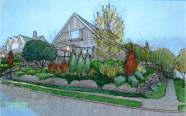 33 Garden Sketches Ideas Perspective Sketch Garden Design Garden Drawing