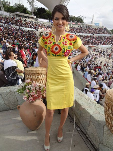 Vestidos modernos regionales