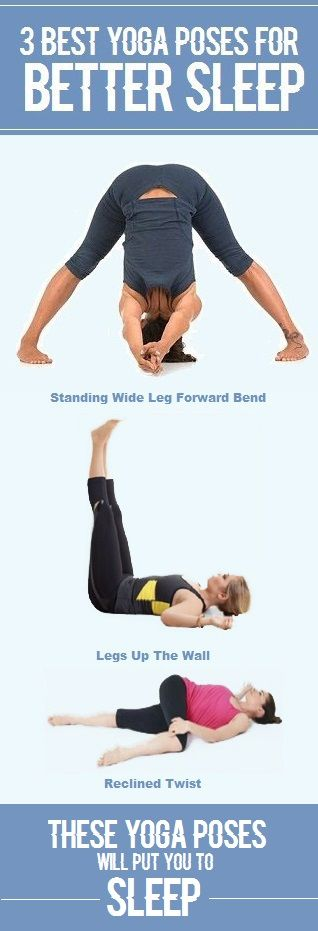 3 Yoga Poses For Better Sleep Yoga Poses Exercise To Reduce Thighs Yoga