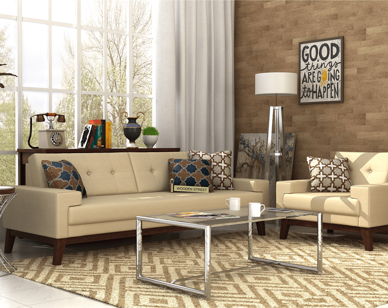 The Clean And Contemporary Look Of Richie Fabric Sofa Set Is Designed With The Idea Of Elegance And Comfort It Smooth Irish Cr Sofa Set Buy Sofa Fabric Sofa