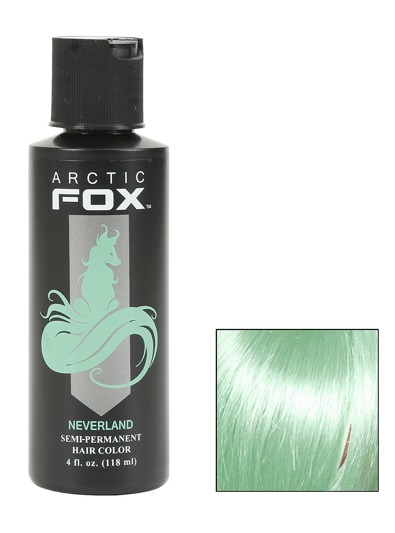 Arctic Fox Semi-Permanent Neverland Hair Dye,