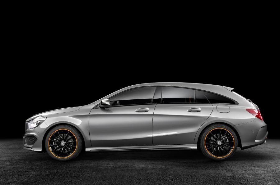 Mercedes Benz Cla Shooting Brake Revealed Shooting Brake