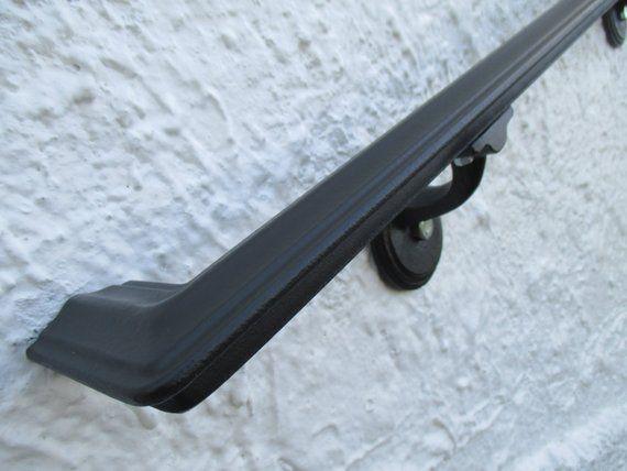 Best 12 Ft Wrought Iron Ada Compliant Return End Wall Rail 400 x 300