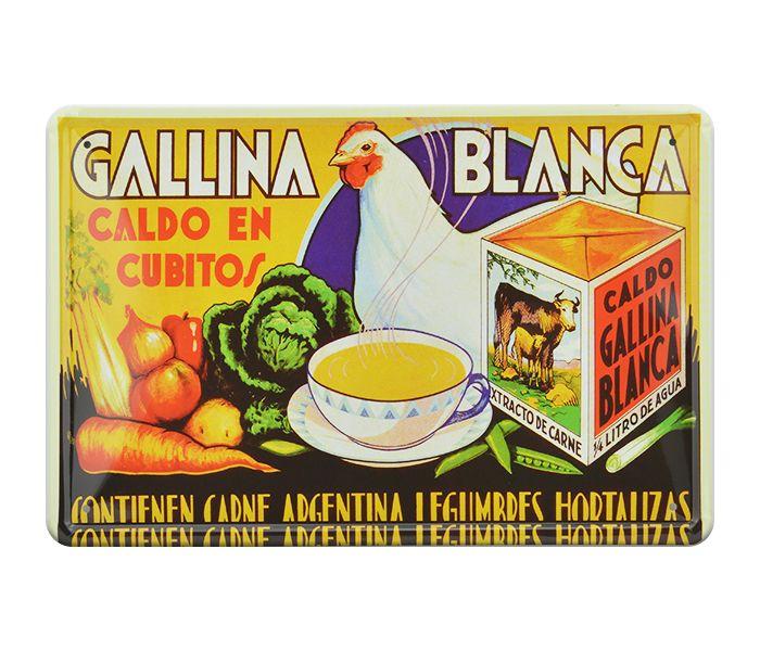 Decorative Painting Gallina Blanca