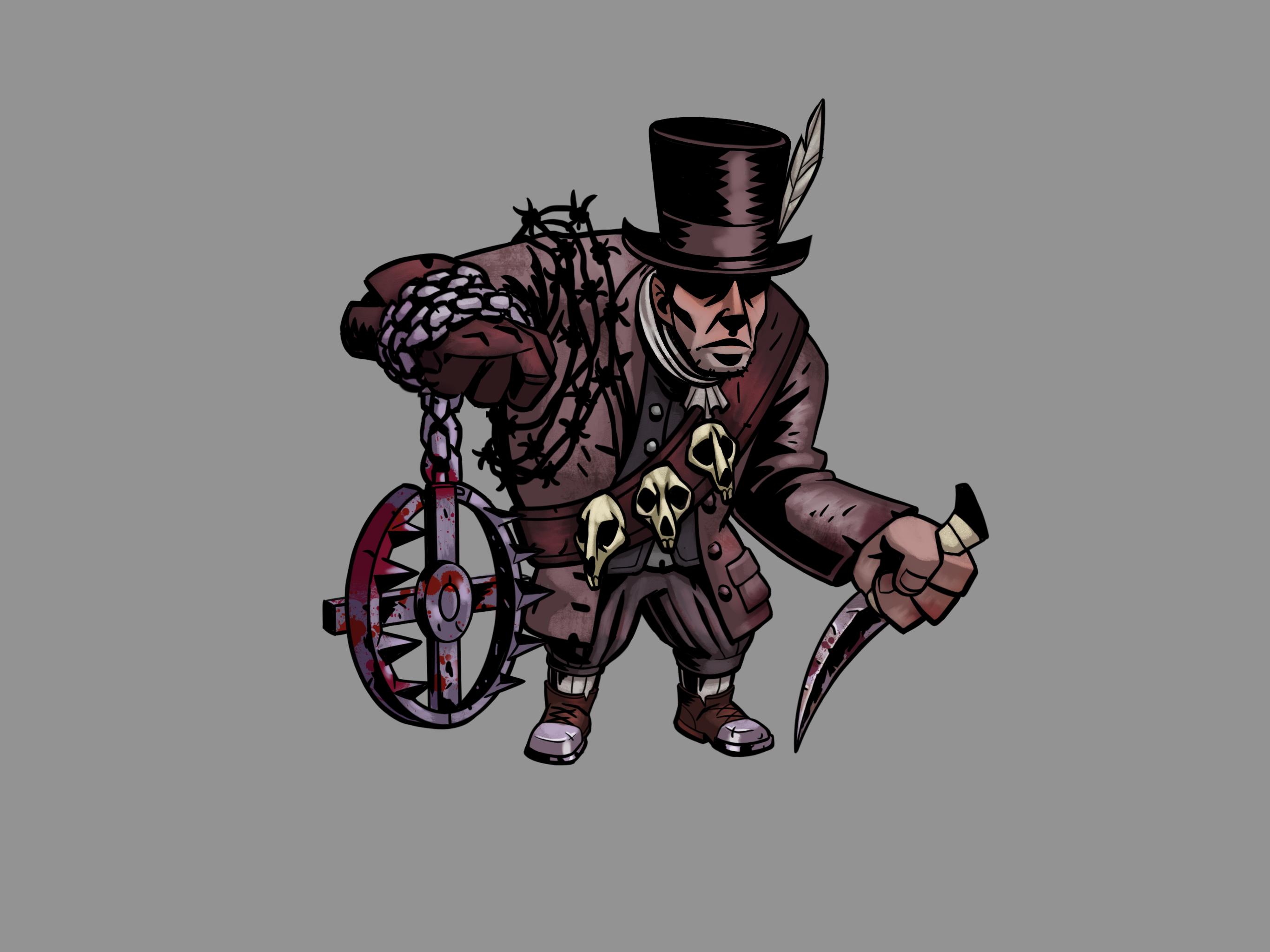 Darkest Dungeon Rat Catcher Darkest Dungeon Dungeon Rats