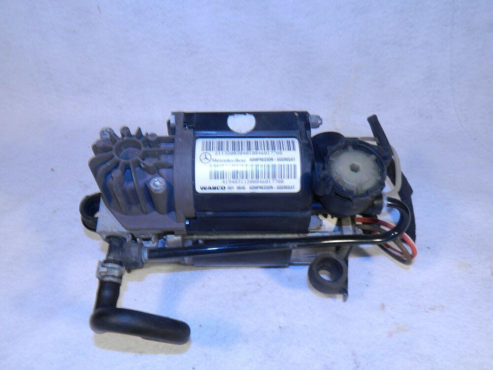 2000-06 mercedes 443 020 167 1 air suspension pump compressor control dated  2008 #wabco