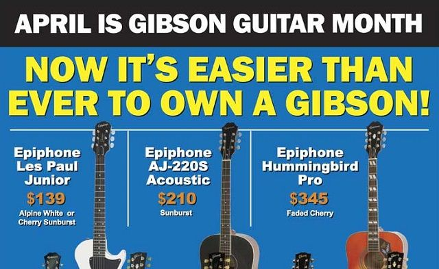 How To Get A Gibson Guitar For Half Price Photo Gibson Guitar Guitar Guitar Month