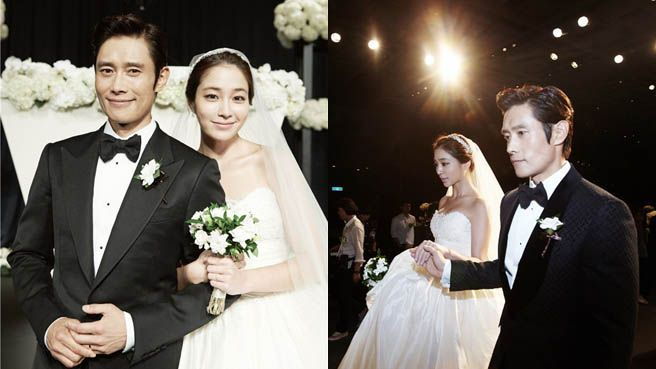 Lee Byung Hun and Lee Min Jung Get Married | Celebrities ...