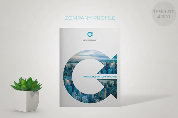 Refresh Company Profile Company profile, Adobe indesign and - company profile templates