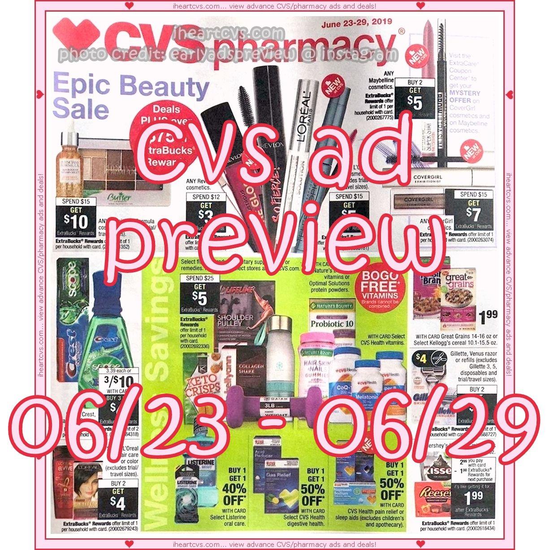 06/23 06/29 Cvs couponing, Cvs