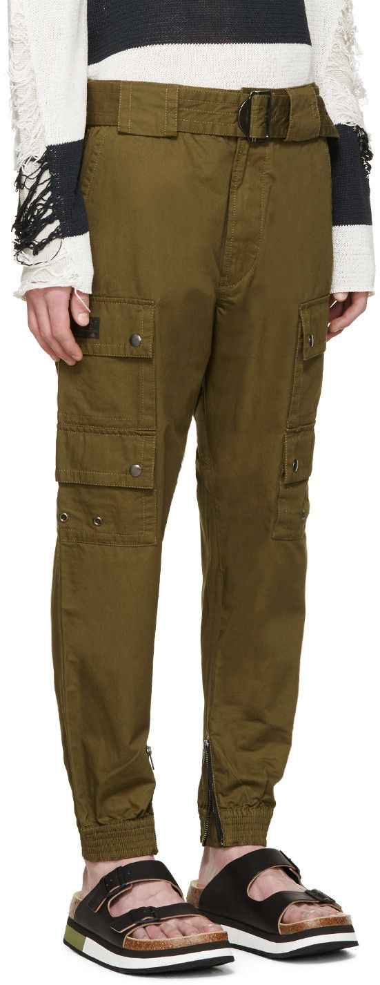 cargo pants - Green Diesel 7SYZs51D4